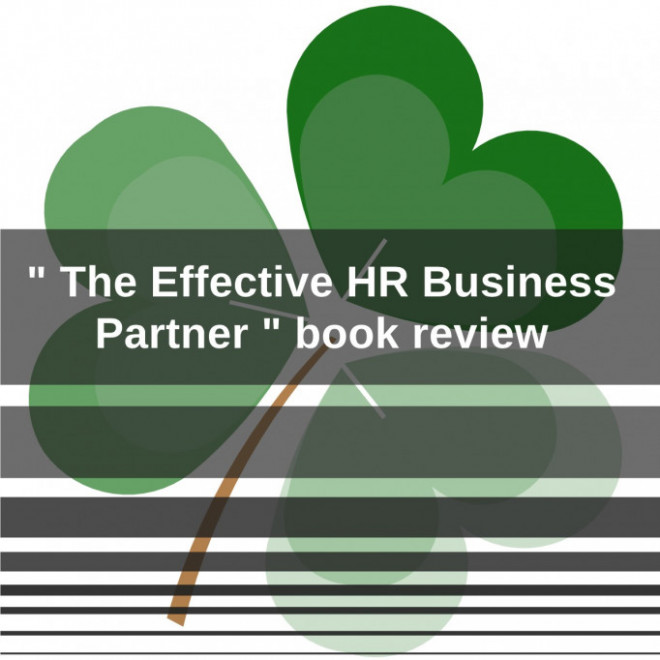 """"""" The Effective HR Business Partner """" book review"""
